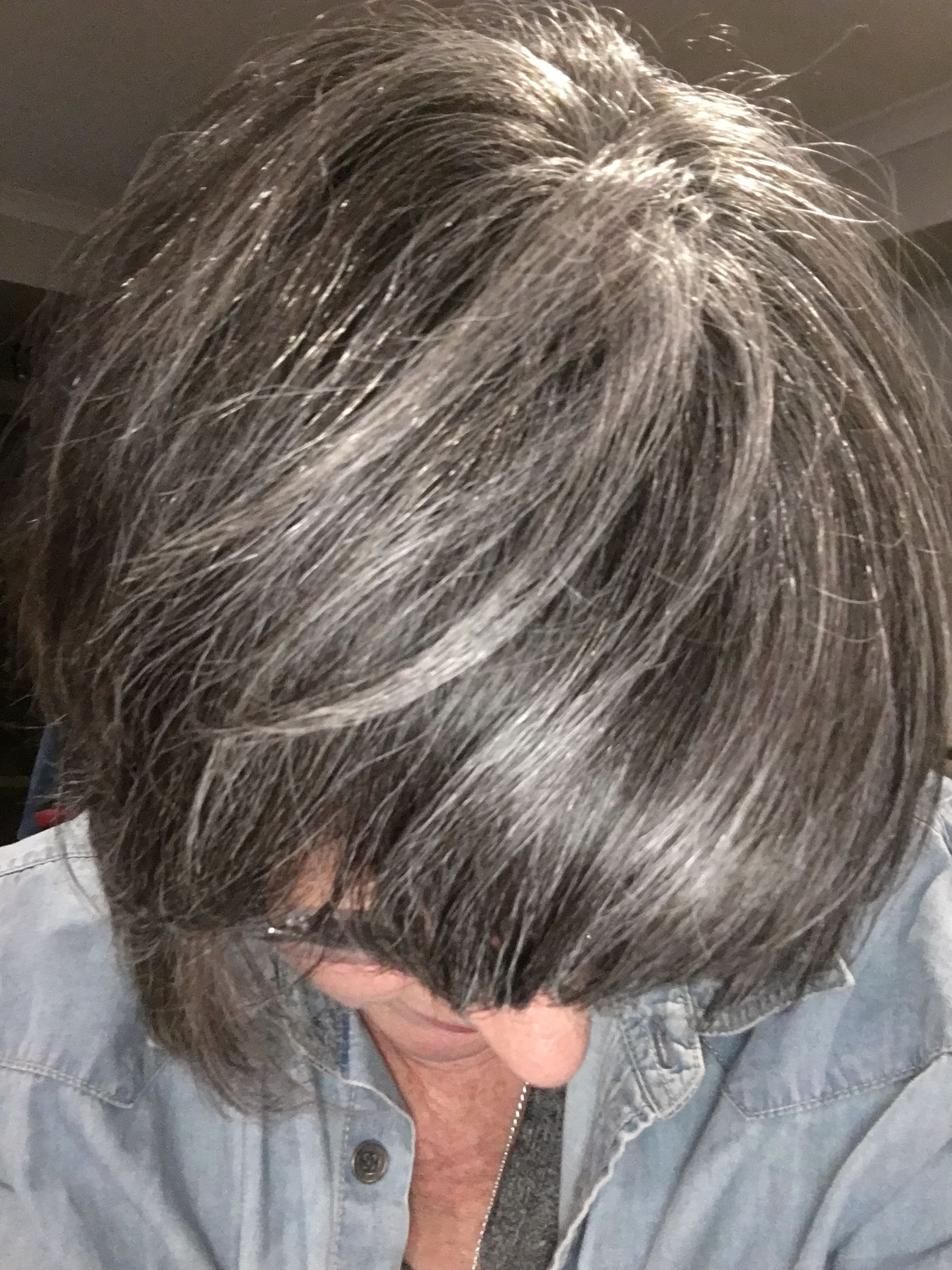Luxury Silver Colored Hair
