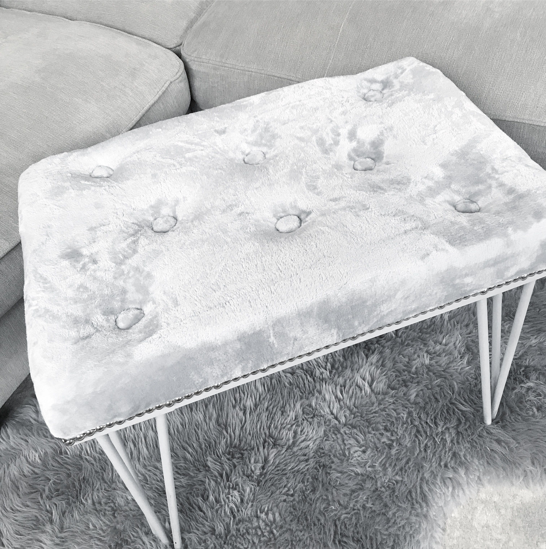 diy ottoman diy bench stool grey littlehomecomforts diy hacks