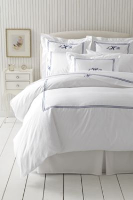 My Favorite Bedding Is From Lands End Tailored Hotel Sateen
