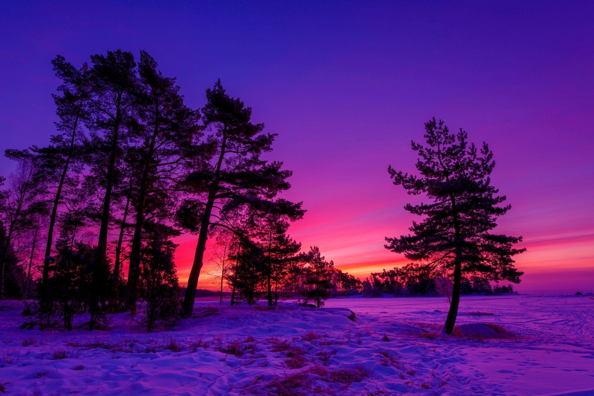 Best Winter sunset ideas on Pinterest 3D Wallpapers