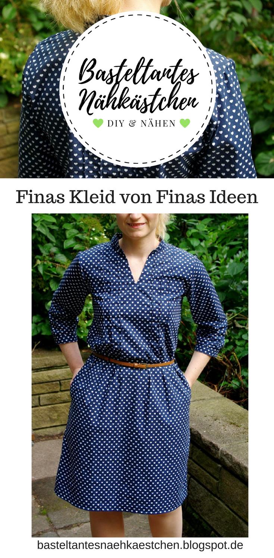 Probenähen: Finas Kleid | Diy nähen, Blog und Schnittmuster