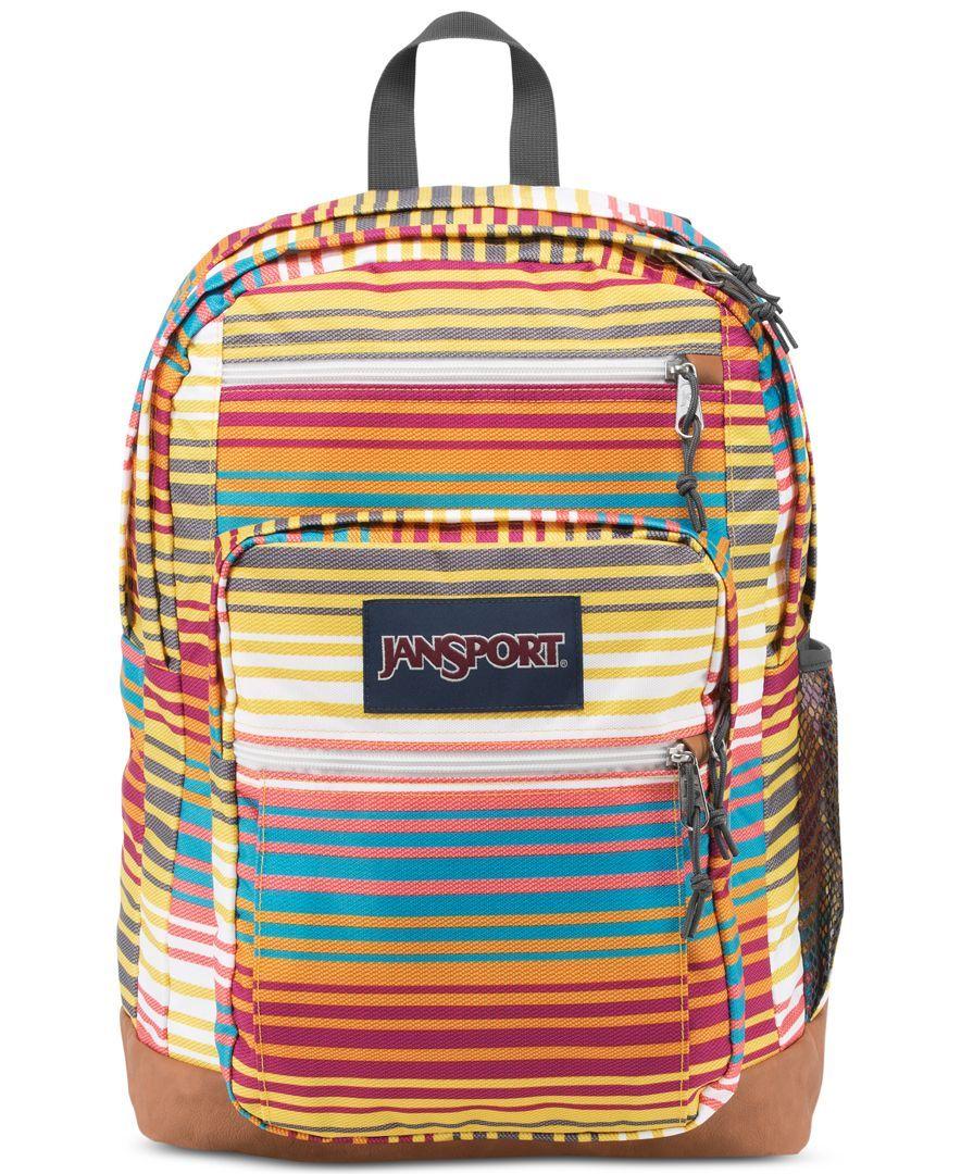 d82317da49c9 Jansport Cool Student Backpack in Multi Sunset Stripe | i want ...