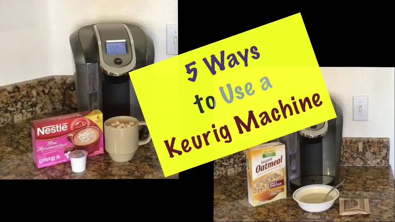 5 Ways to Use a Keurig Machine Keurig, Household hacks