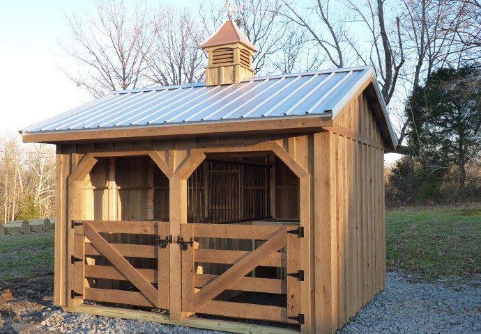 Farmsteader Horse Barns Small Horse Barn for sale