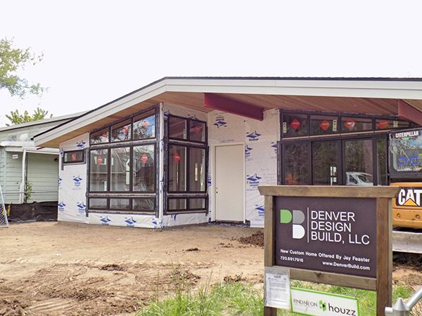 gorgeous new mid century modern custom build home by denver design