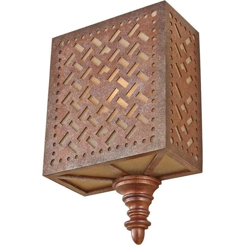 Murray Feiss WB1609MOB Kandira Wall Sconce In Moroccan Bronze #Traditional