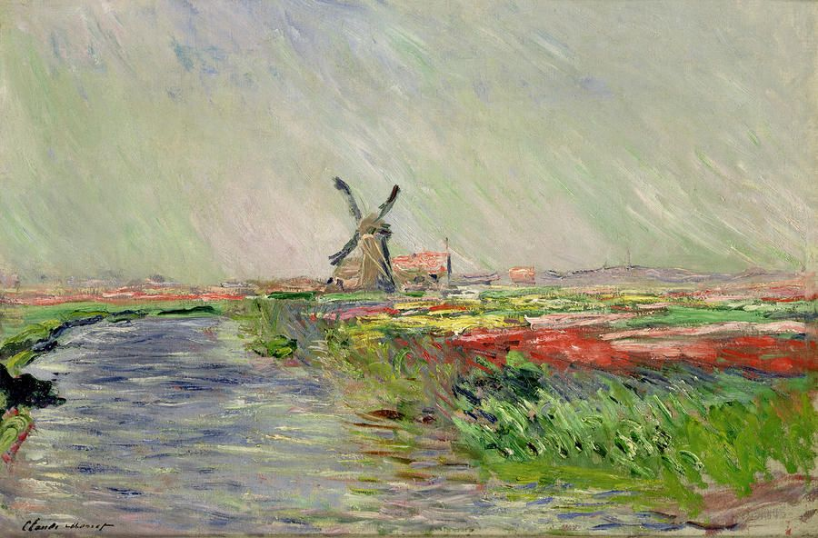 Best Of Monet Holland Paintings