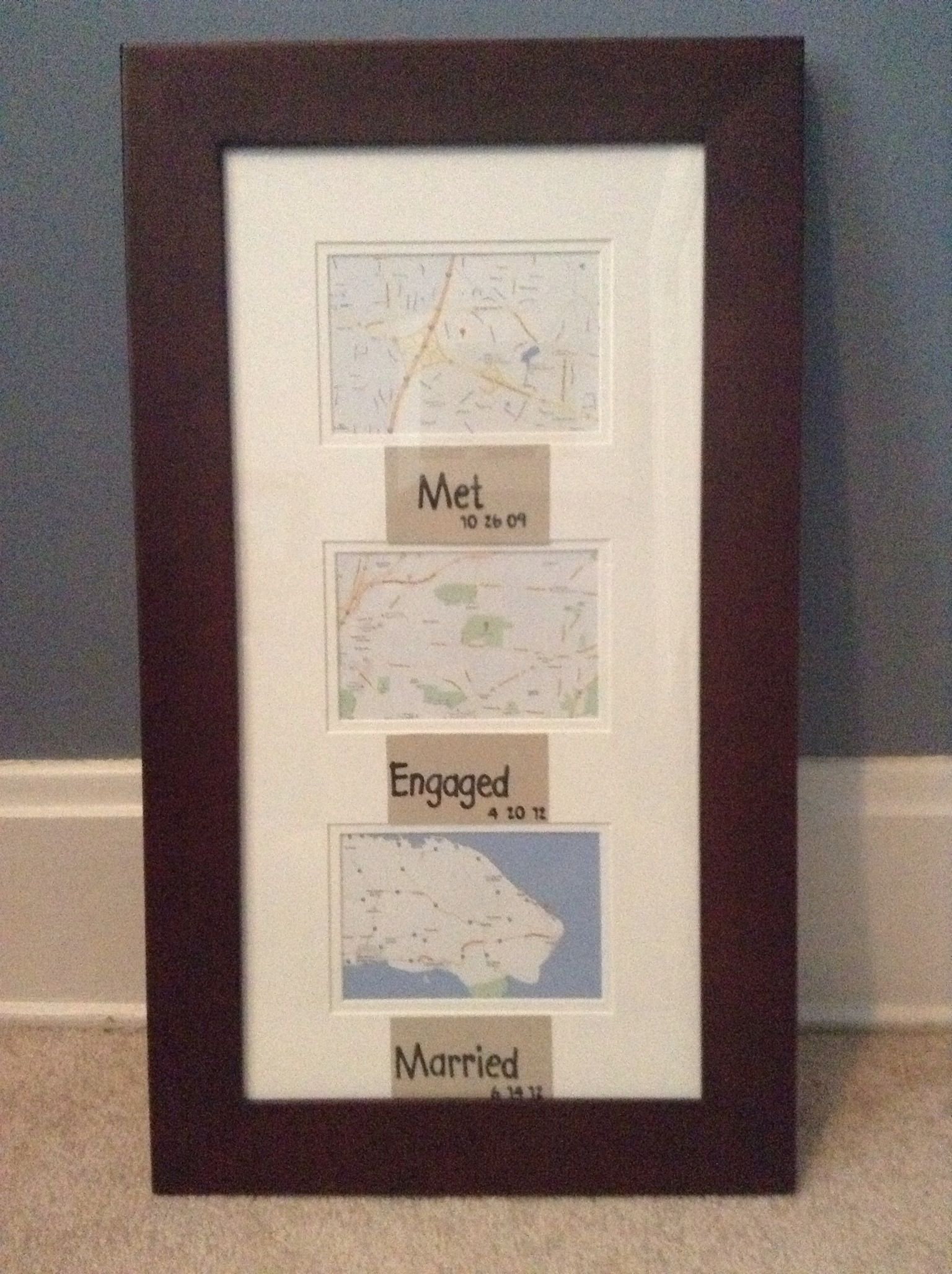 met engaged married map frame. met engaged married map frame  my things  pinterest  map