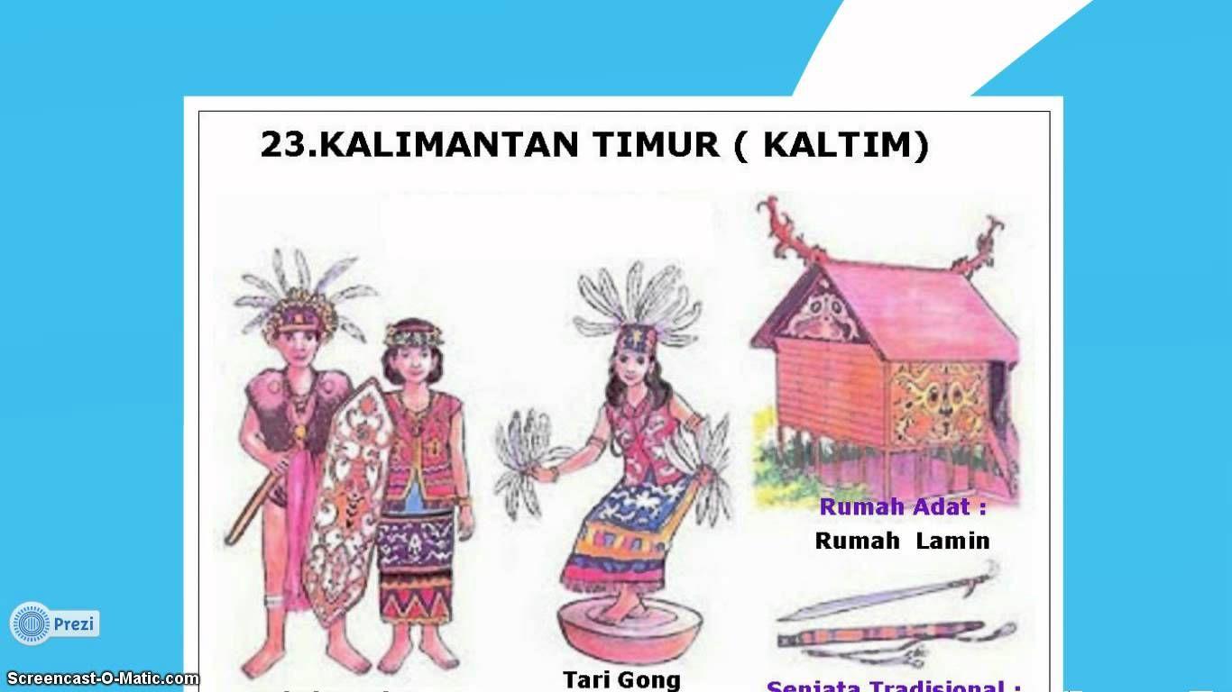 34 Provinsi Rumah Adat Dan Pakaian Adat
