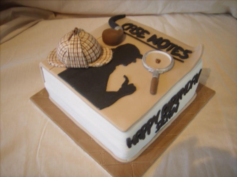 Sherlock Holmes Cake Chloe Cake Pinterest Sherlock Holmes