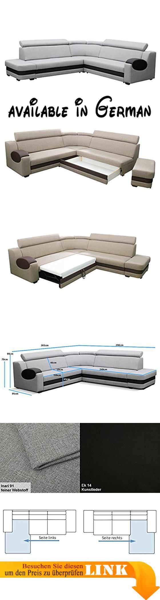 B06xrj3k4t Grosse Ecksofa Sofa Eckcouch Couch Mit Schlaffunktion