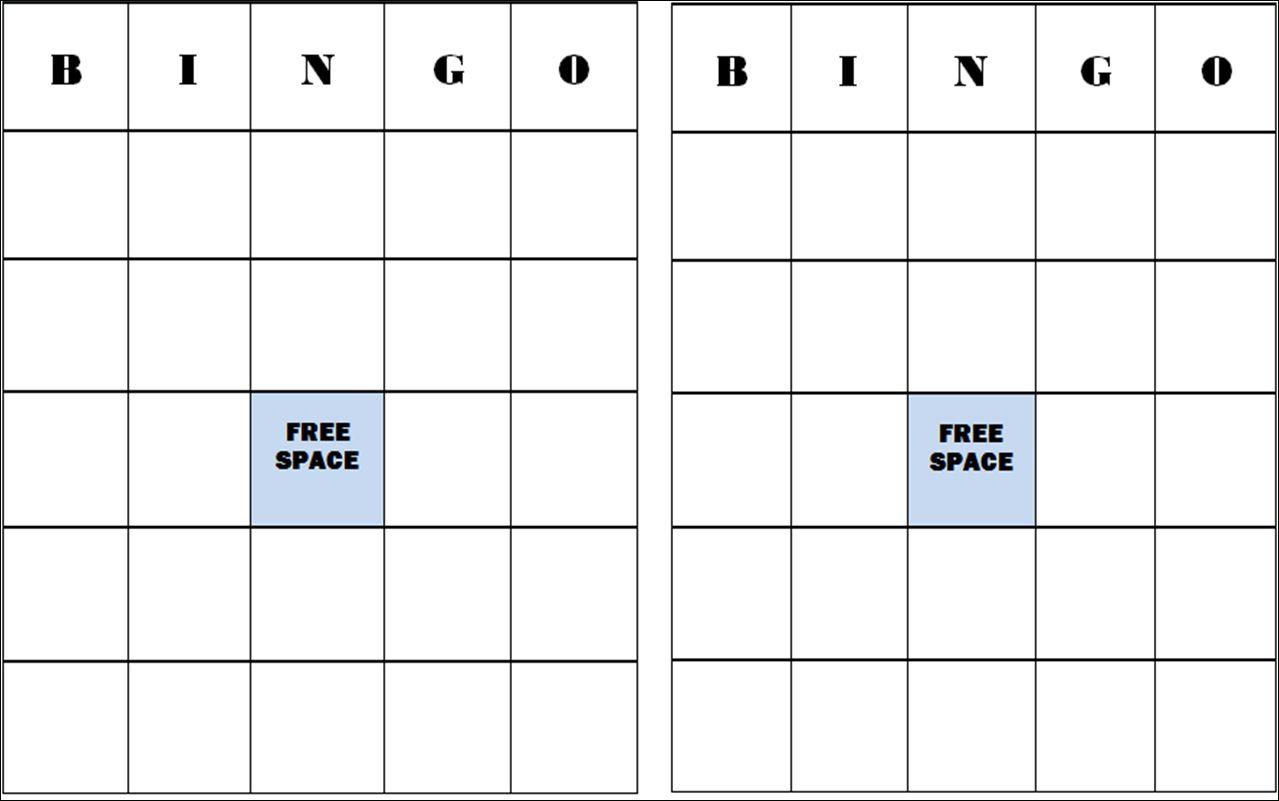 The Awesome Free Blank Bingo Card Template Bingo Template Bingo Card Within Ice Breaker Bingo Card Bingo Template Bingo Card Template Bingo Cards Printable