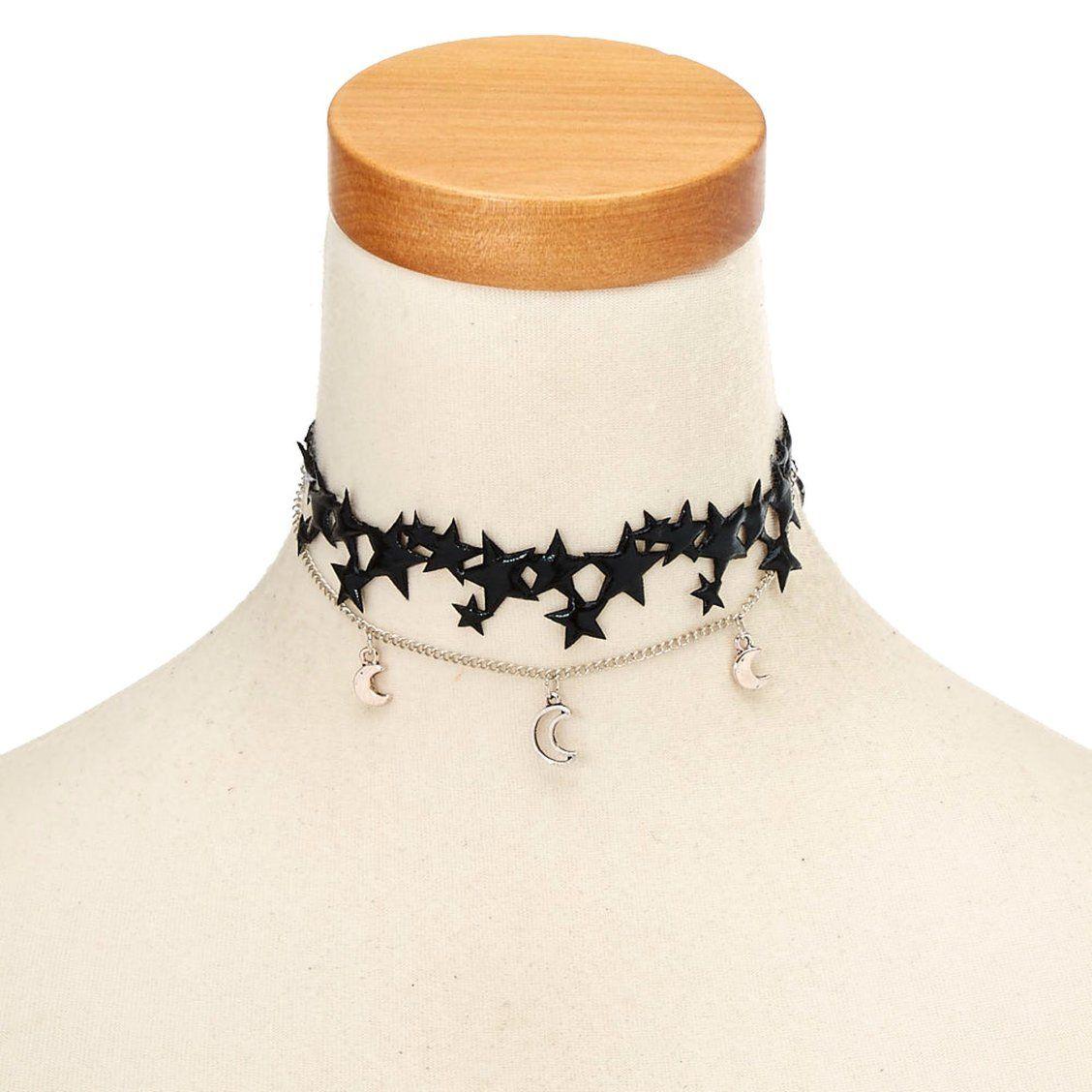Spider Choker Velvet Black Necklace Collar Witch Goth Halloween