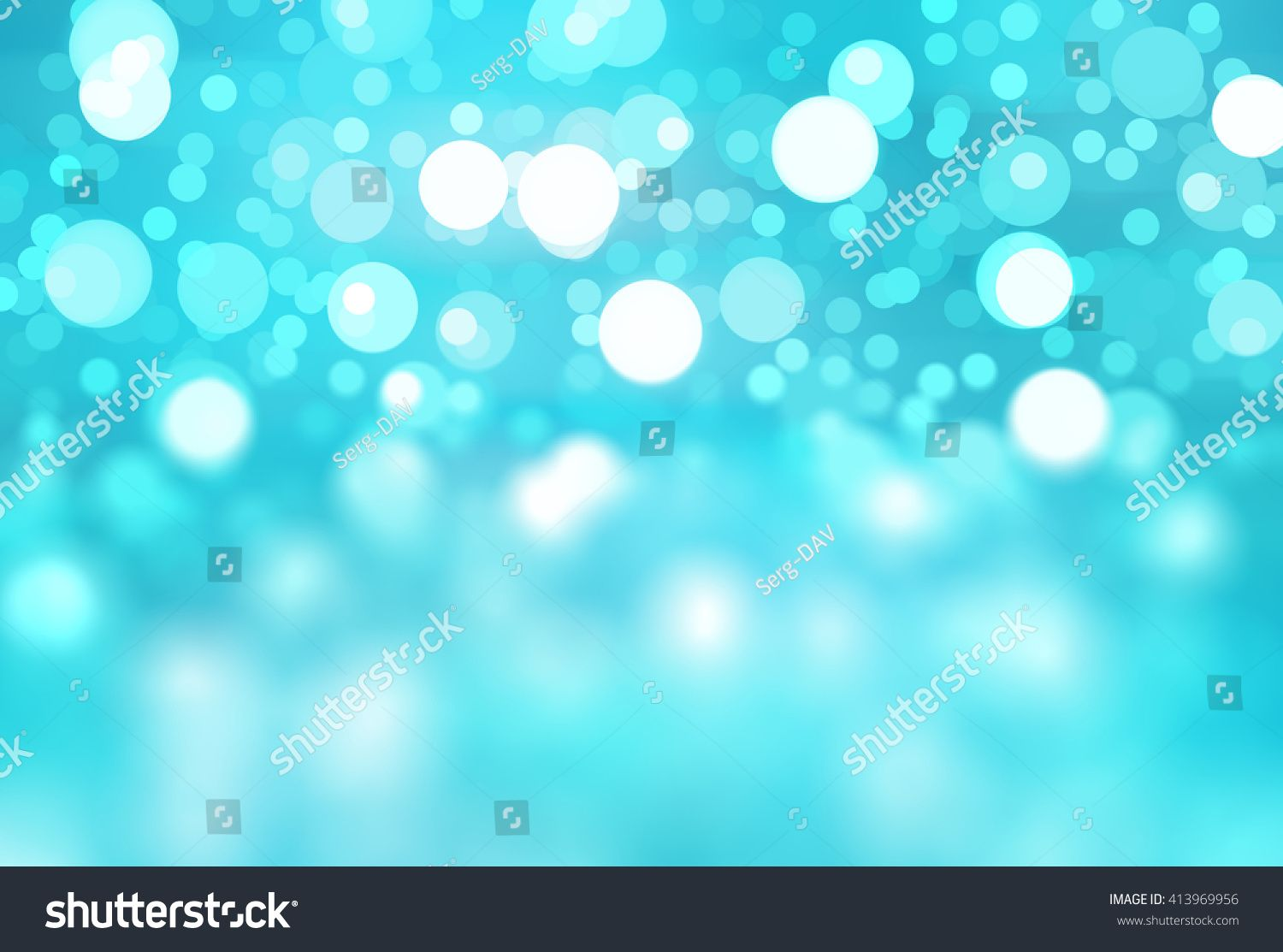 abstract background blue bokeh circles Beautiful background with particles