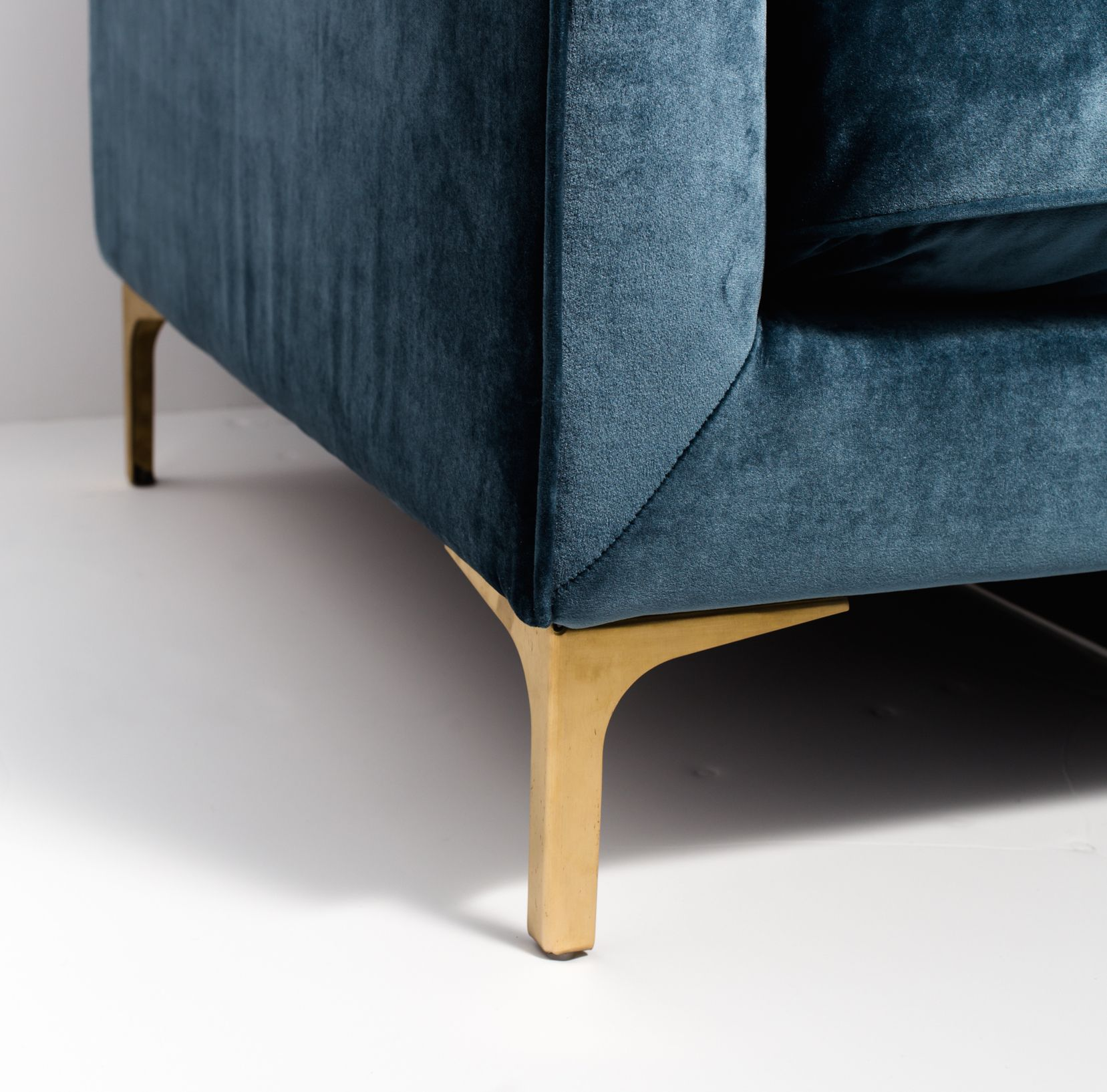 caitlin sofa brass Sofas Favorites Pinterest