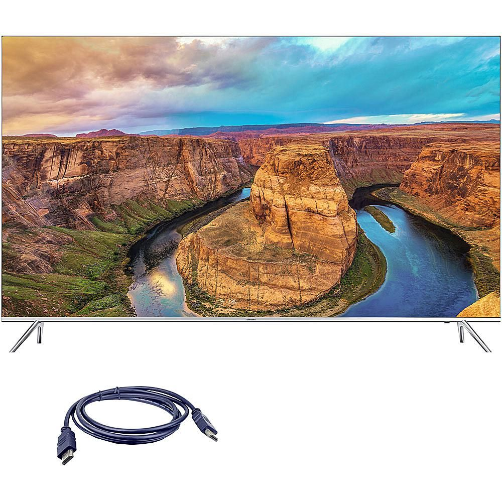 "Samsung 65"" 4K SUHD Smart LED TV with 6' HDMI Cable"