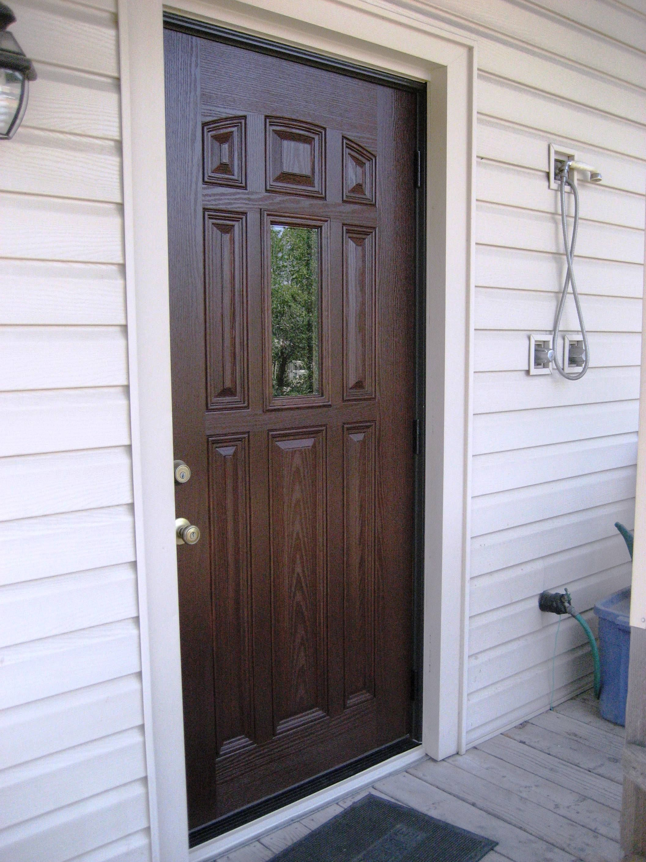 Inspirational Fiber Glass Entry Doors