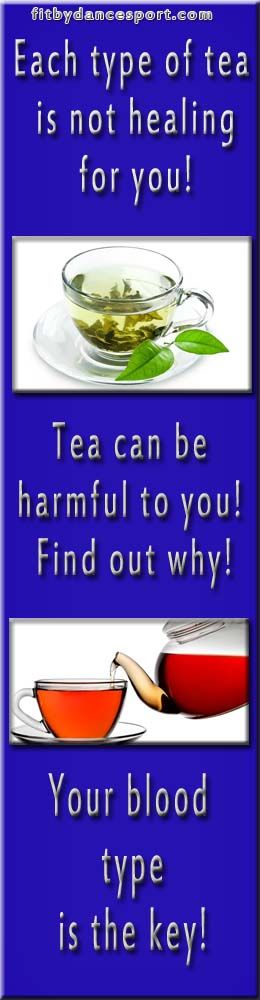 do not drink wrong kind of tea be careful