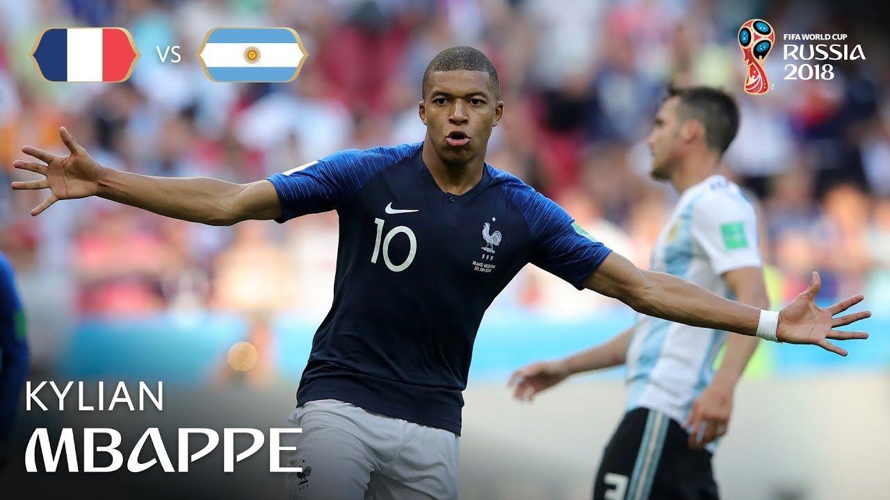 Kylian MBAPPE Goal France v Argentina MATCH 50