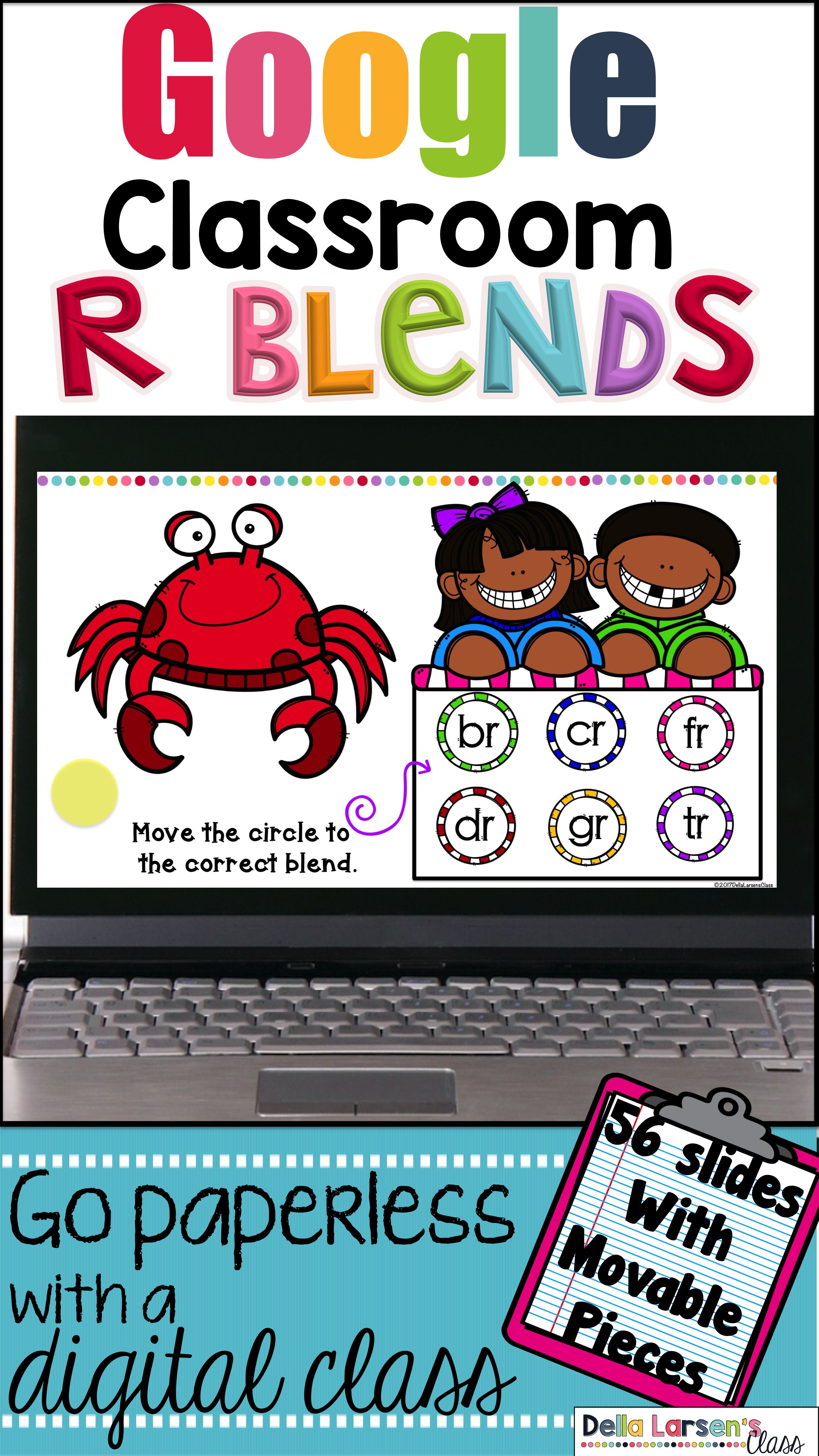 Classroom Identifying R Blends In First Grade