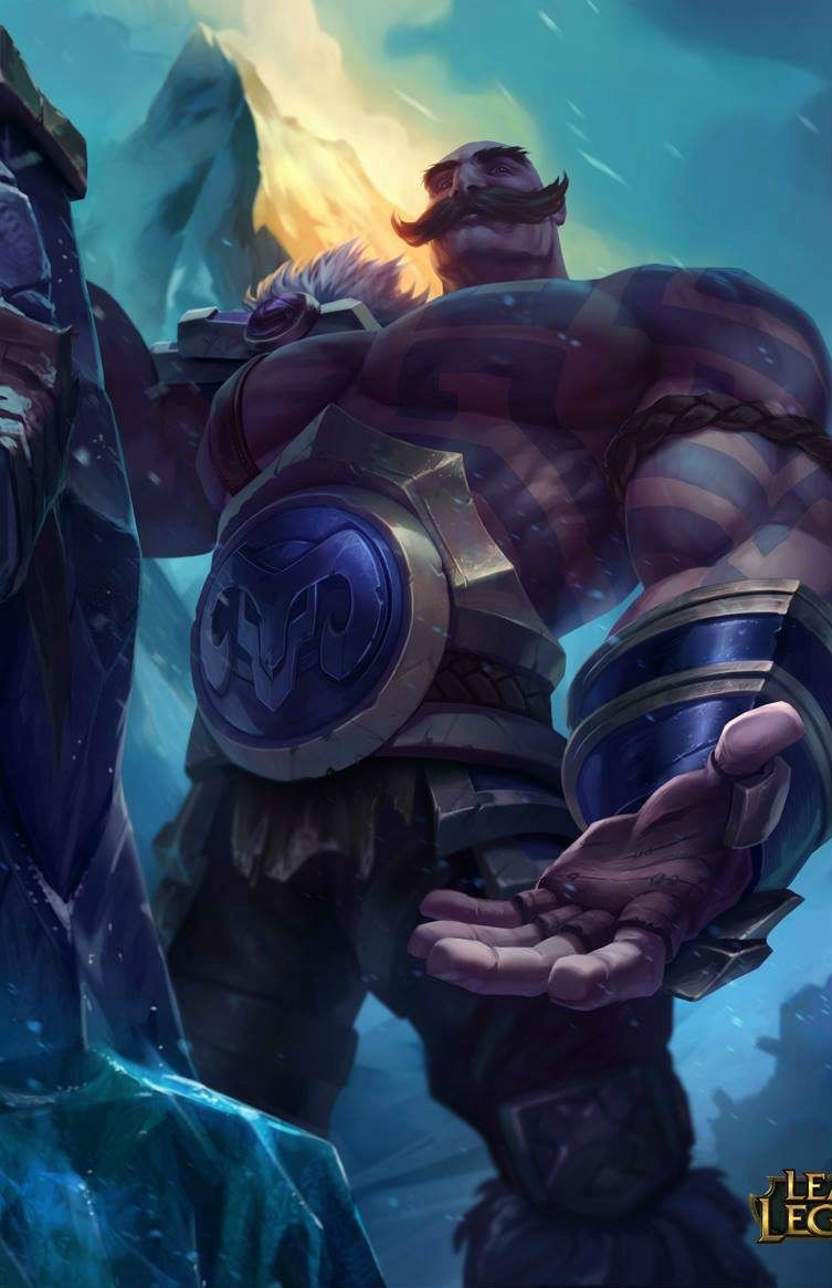Lol Braum Moba Skins And Heroes In 2019 Pinterest League Of