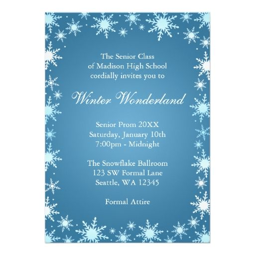 Image Result For Winter Wonderland Theme Grade School Father Daughter Dance Christmas Party Invitations