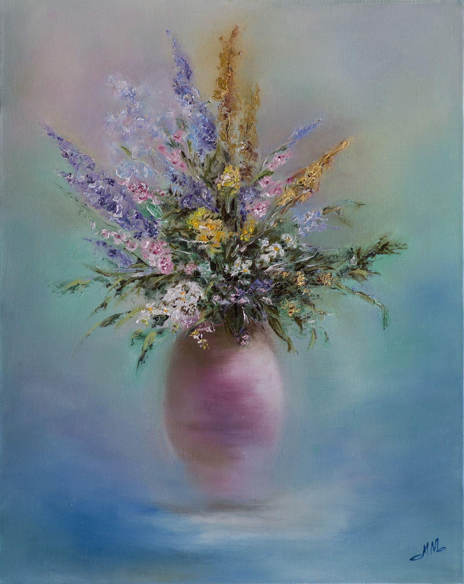 www.milamoroko.com Wild Flowers in a Vase http://www ...
