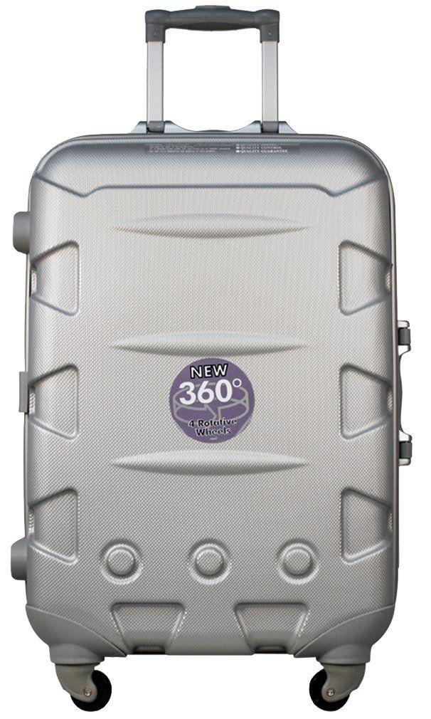 Ambassador Luggage ABS Tru-Frame Zipperless 25 inch Medium Trip ...