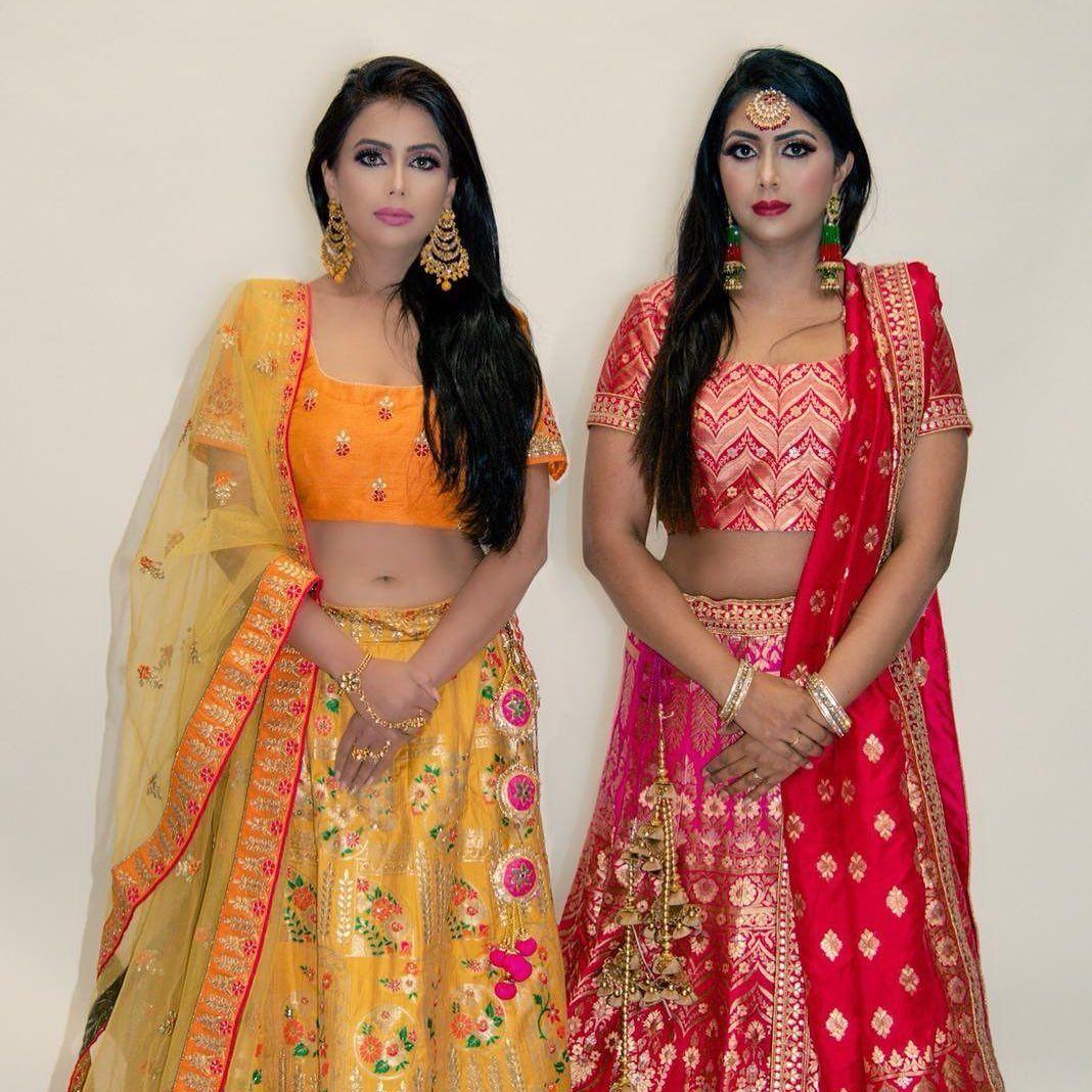 Beautiful Models @ndy26 @shwetasreflection_ig  Mua @beautybyraman1  Hairstyle @hairstylesby_inder