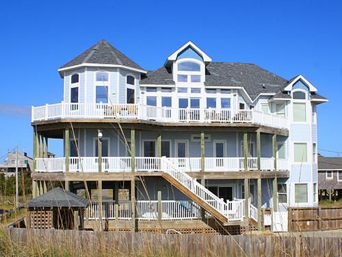 Lighthouse View 737 Oceanfront house Frisco Outer Banks OBX
