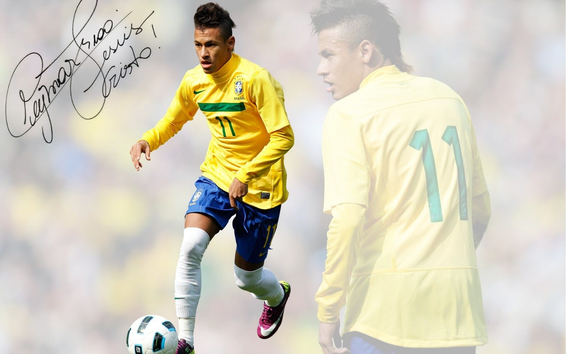 neymar brazil desktop wallpaper | neymar jr themes | pinterest