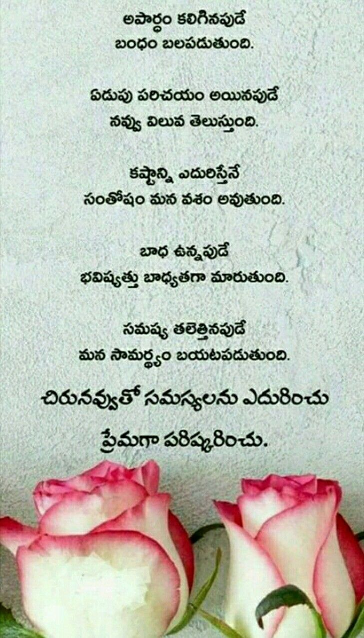 Pin By Madhu Sudhana Raju On Quotes Telugu Inspirational Quotes Lesson Quotes Simple Love Quotes