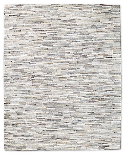South American Cowhide Stripe Rug Restoration Hardware Striped Rug Rugs American Home Furniture