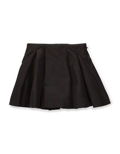 Ralph Lauren Childrenswear Girls 2-6x Taffeta Skirt  Black 5