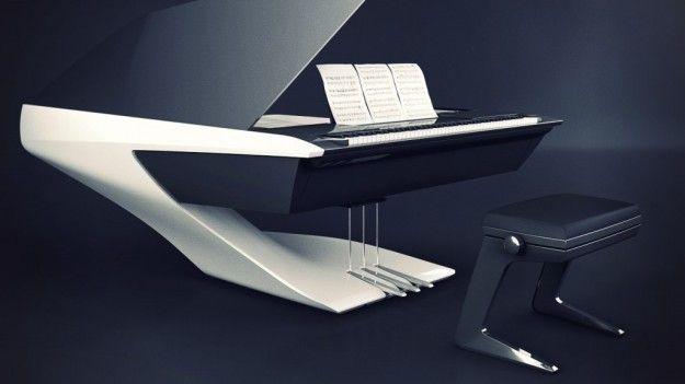 Piano e seduta - La seduta abbinata al piano di Peugeot Design Lab e Pleyel