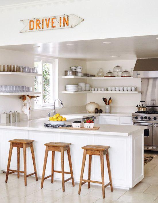 home tour cozy malibu beach cottage white kitchens pinterest