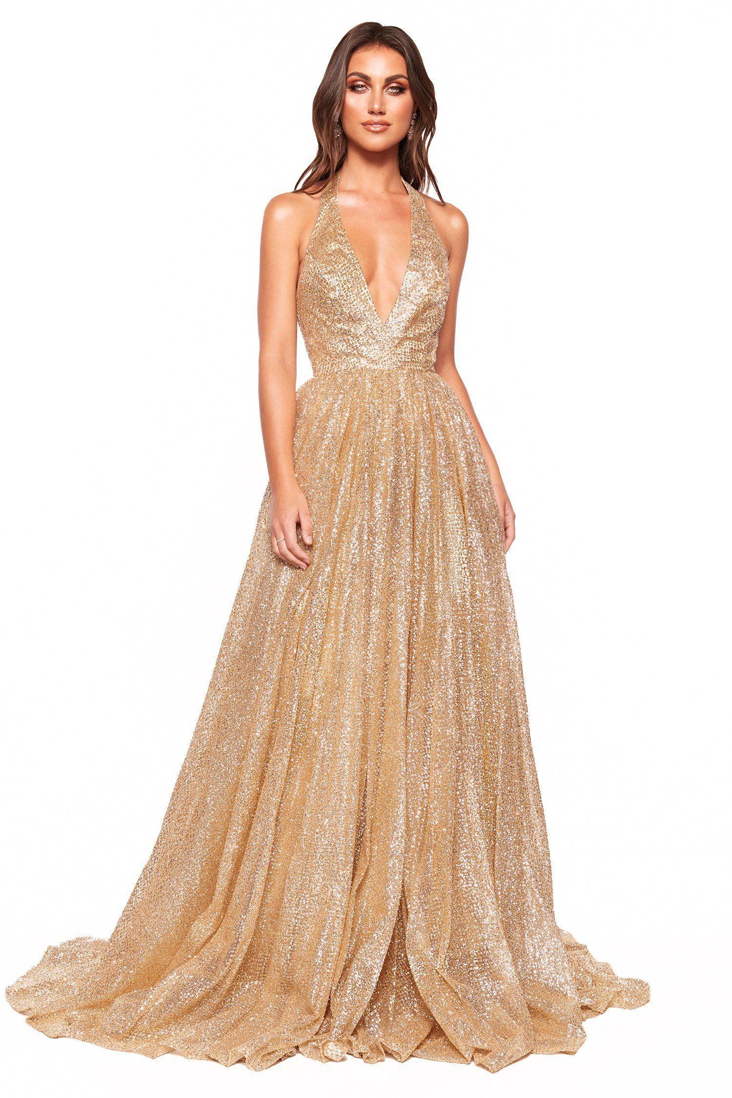 31++ Gold glitter dress info