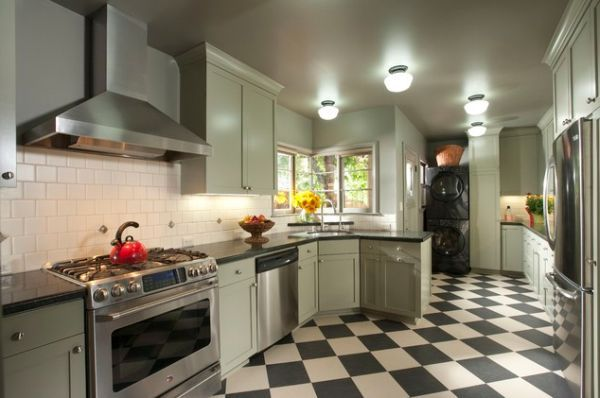 Awesome Modern Kitchen Flooring Ideas