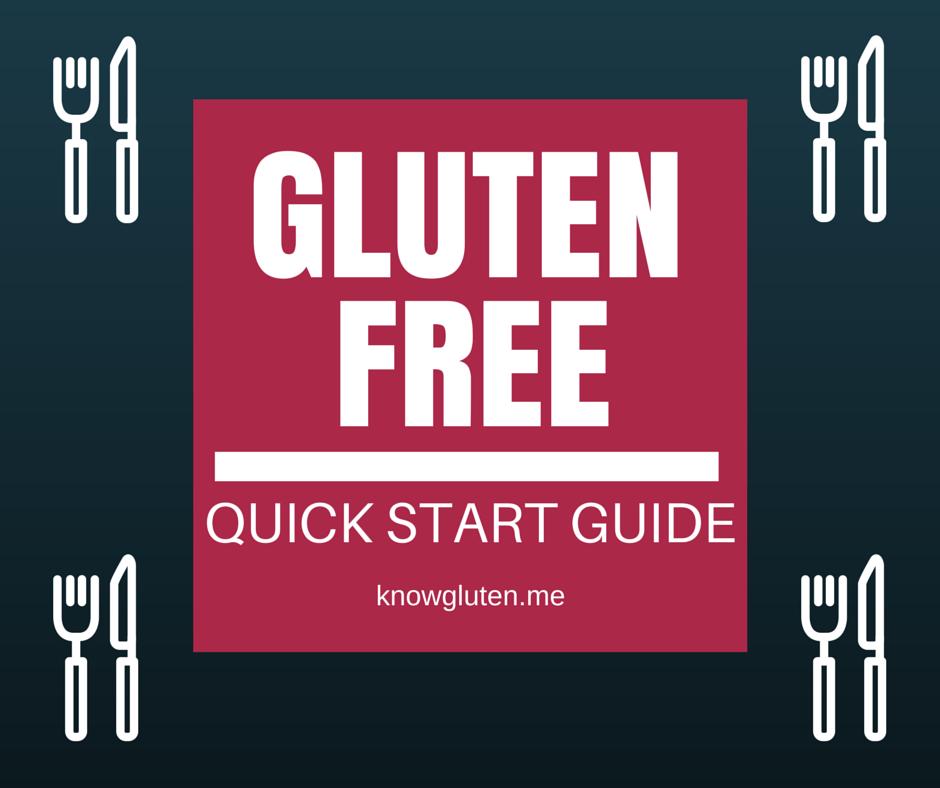 gluten free diet quick start guide