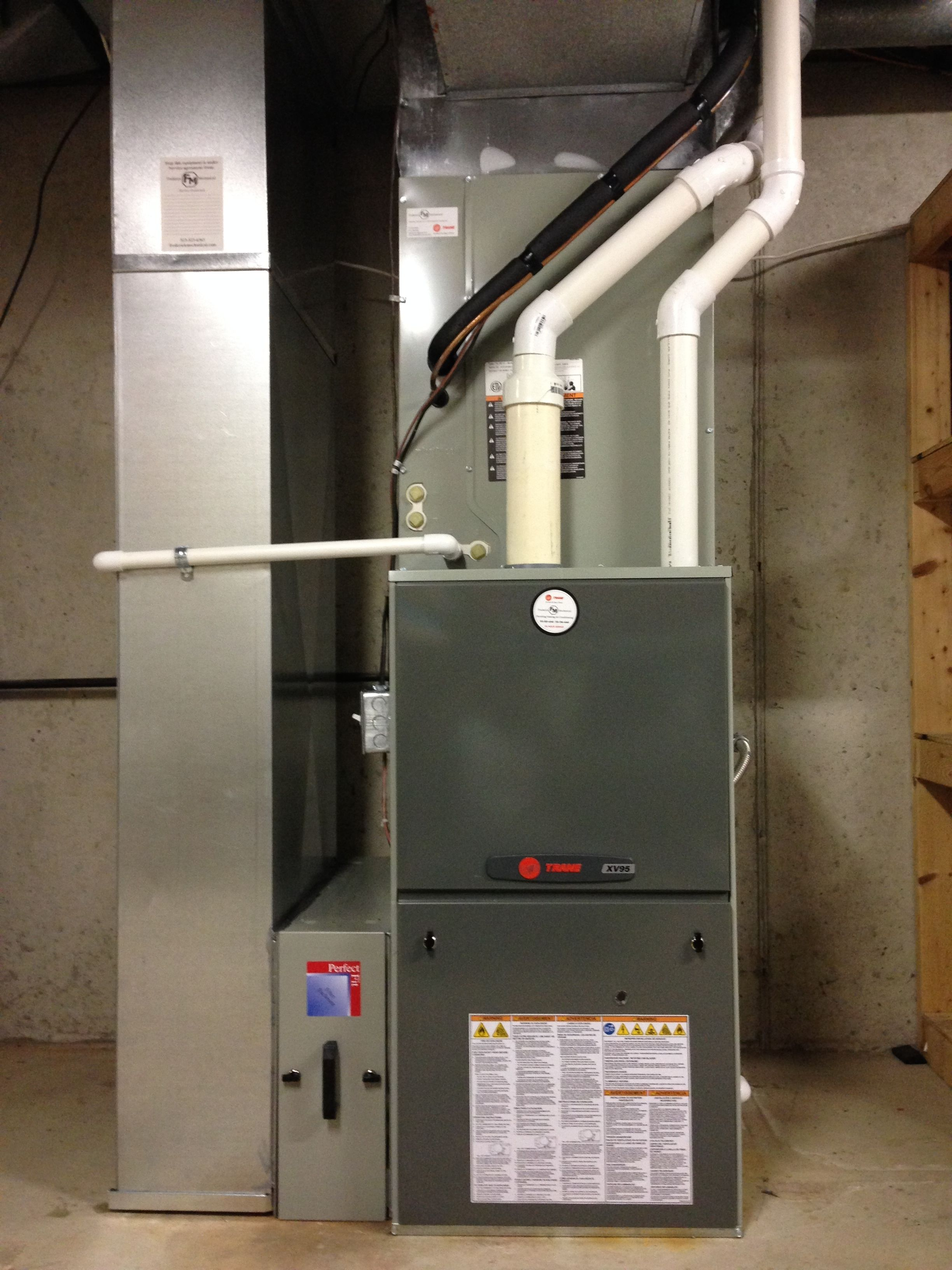 New Variable Speed Furnace From Trane And Frederick Mechanical
