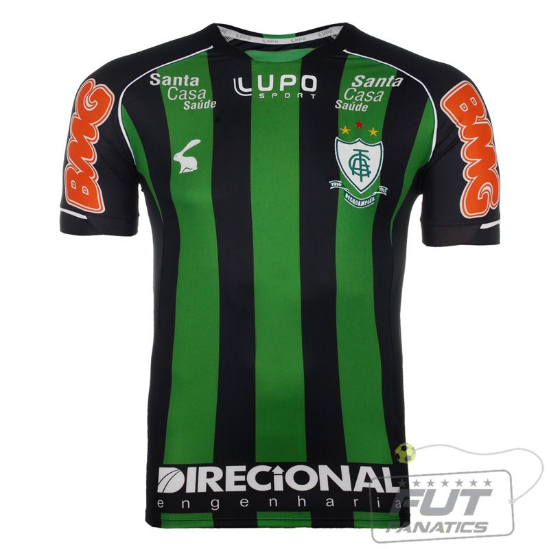 da7a4b1f1685a Camisa Lupo América Mineiro I 2013 N° 7 - Fut Fanatics - Compre Camisas de