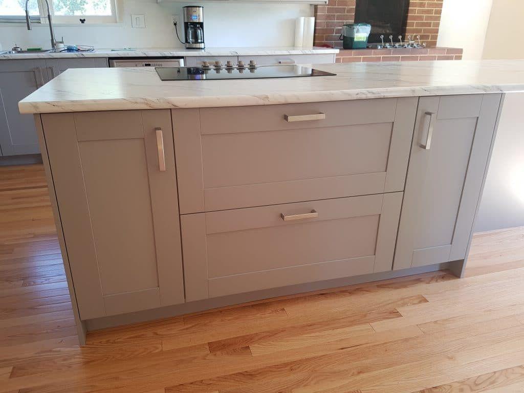 Grimslov Gray Wilsonart Calcutta Marble Laminate Countertop Ikea