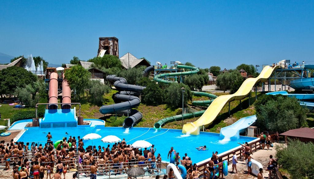 water park italy