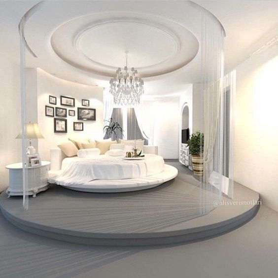 30 Round Beds That Will Spice Up Your Bedroom Modern Luxury Bedroom Luxurious Bedrooms Luxury Bedroom Design