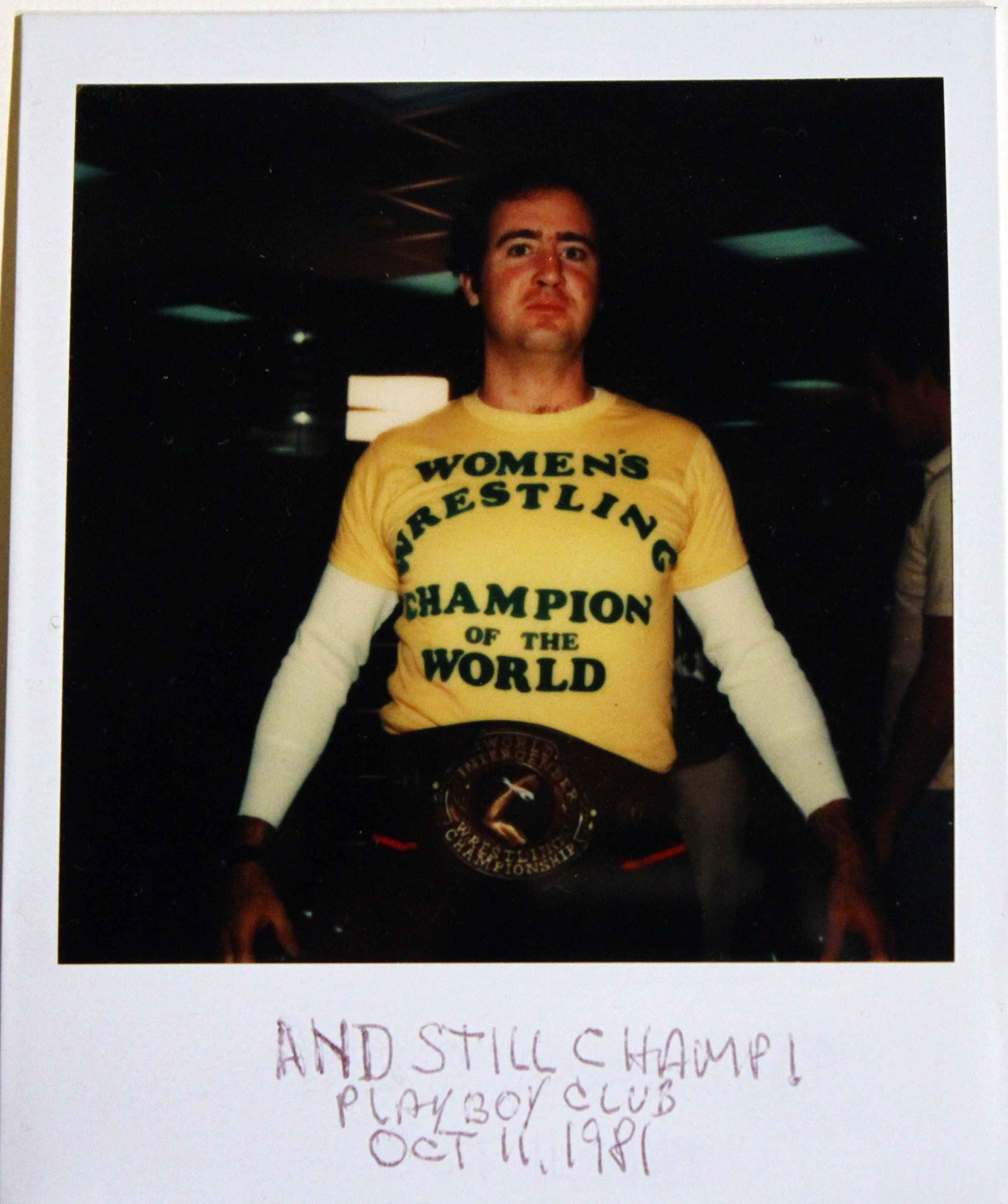 281ab66a Andy Kaufman • Women's Wrestling Champion of the World | Stuff I ...