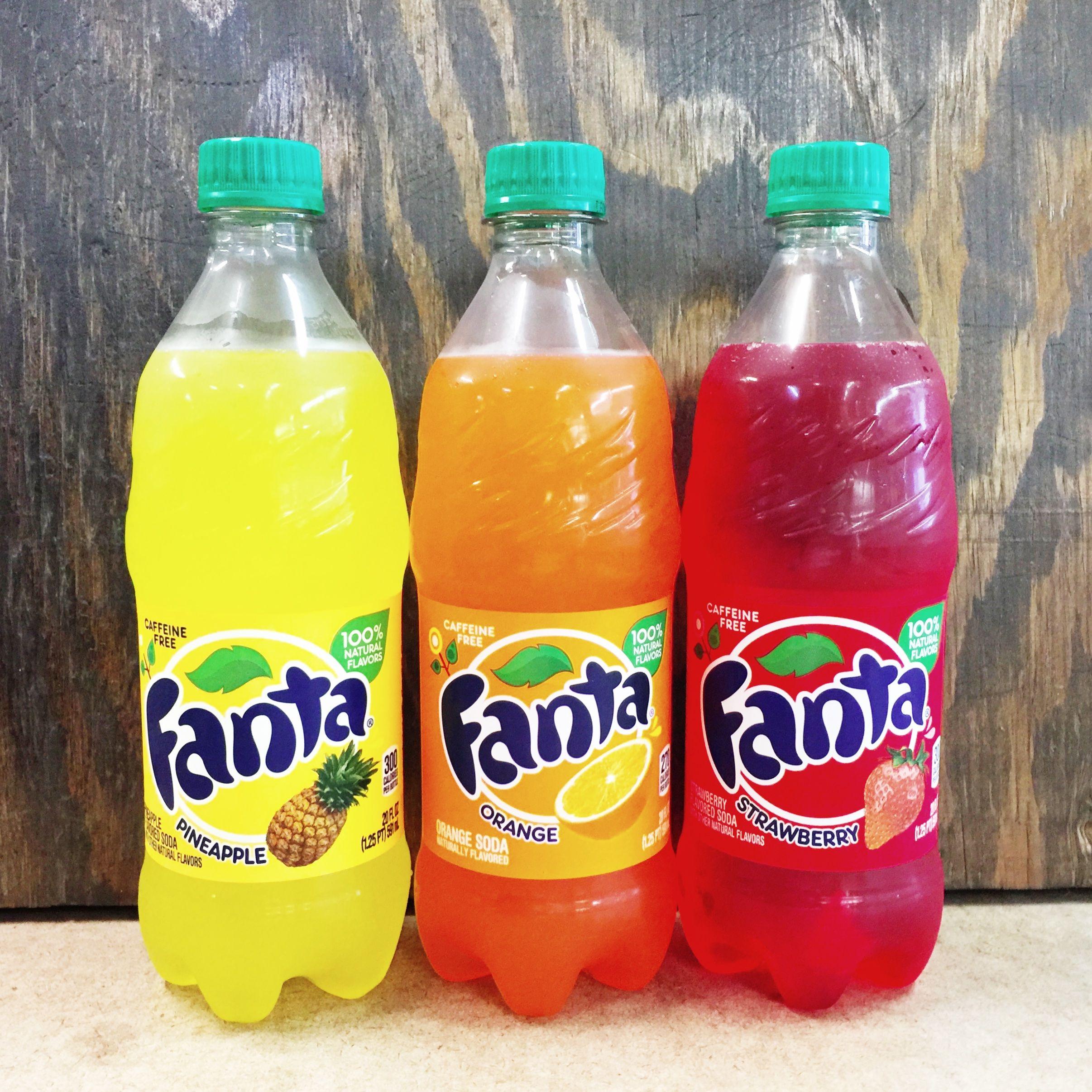 how to make fanta soda