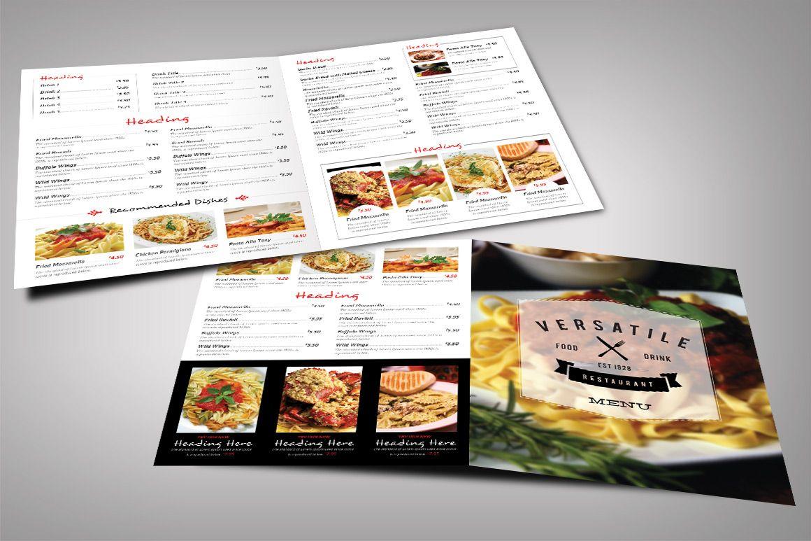 Restaurant Menu Bundle   Pinterest