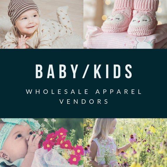 Wholesale Baby/Kids Boutique Vendor List USA Suppliers ...