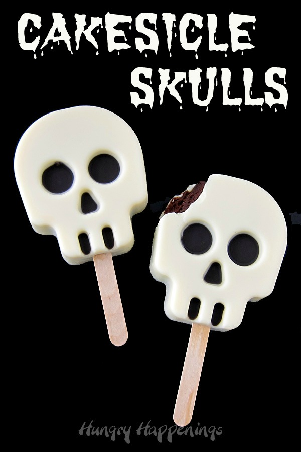 cakesicle skulls  schädelförmige cake pops  hungrige
