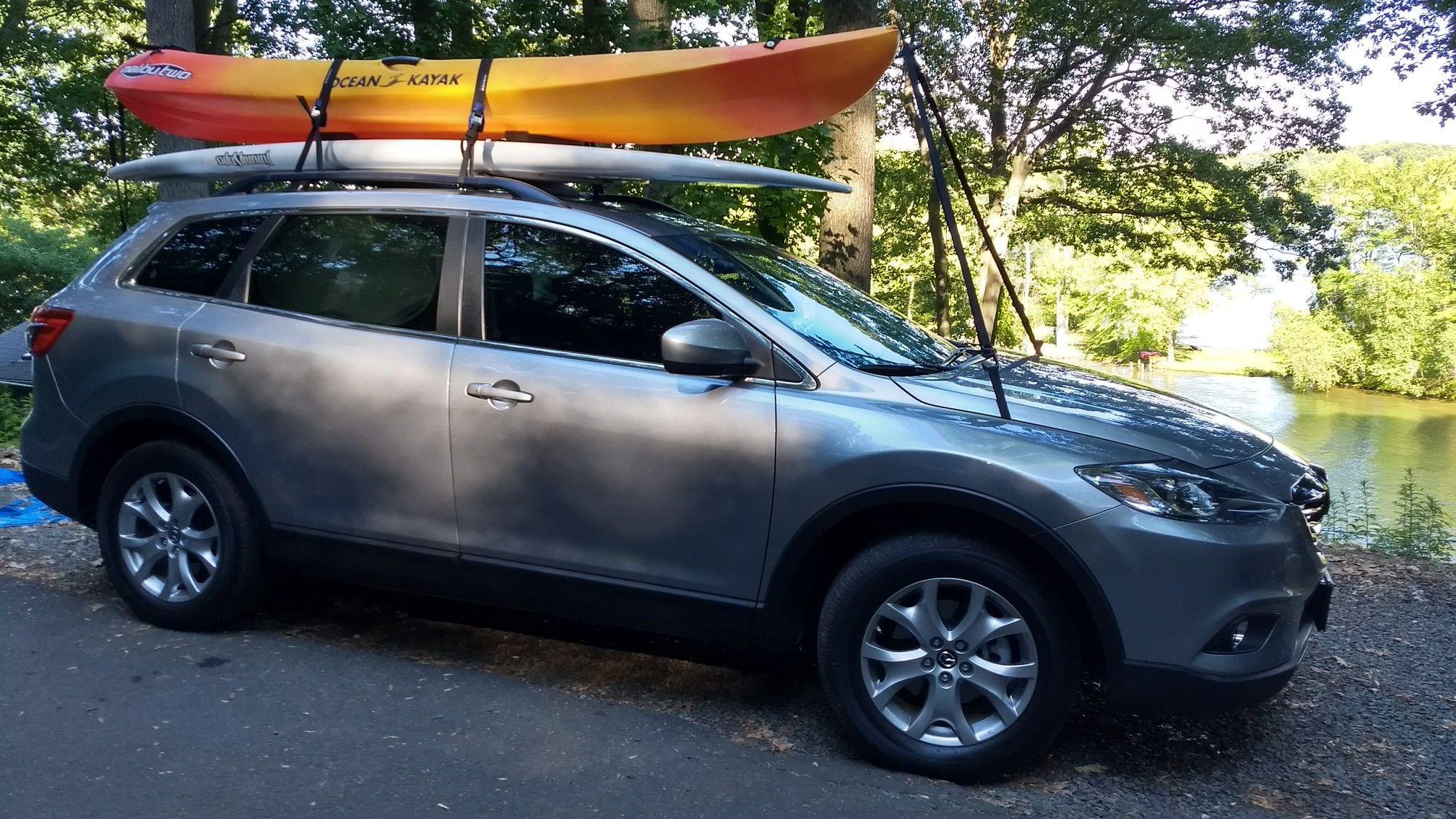 2014 Mazda Cx 9 Kayak And Paddle Board Mazda Cx 9 Lexus Sport Lexus Sports Car